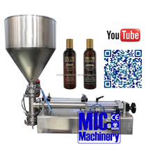 Micmachinery Hair shampoo making and Manual bottle filling machine for small business