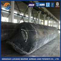 Various Sizes Pneumatic Floating Rubber Pontoon