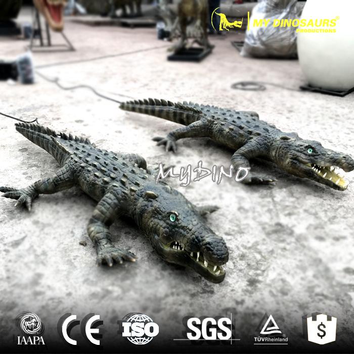 Life size artificial crocodile.jpg