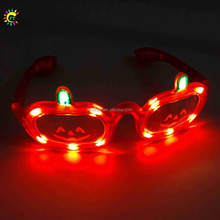 Pumpkin shaped LED eye glasses for Halloween party