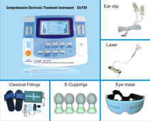 high-tech physiotherapy health care ultrasound tens heating EA-VF29 with CE mark