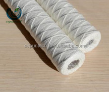 String Wound Filter Cartridge/cotton Yarn Filter Cartridge/glass Fiber Filter Cartridge