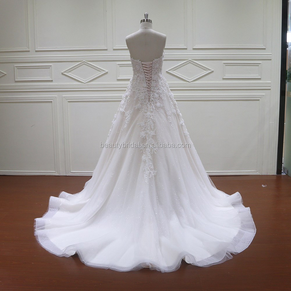 HD010 amanda novias 3D flowers beading wedding dresses made in philippines