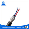 pvc insulated 0.3mm2 shielded 4 core flexible 2 pair twisted control cable