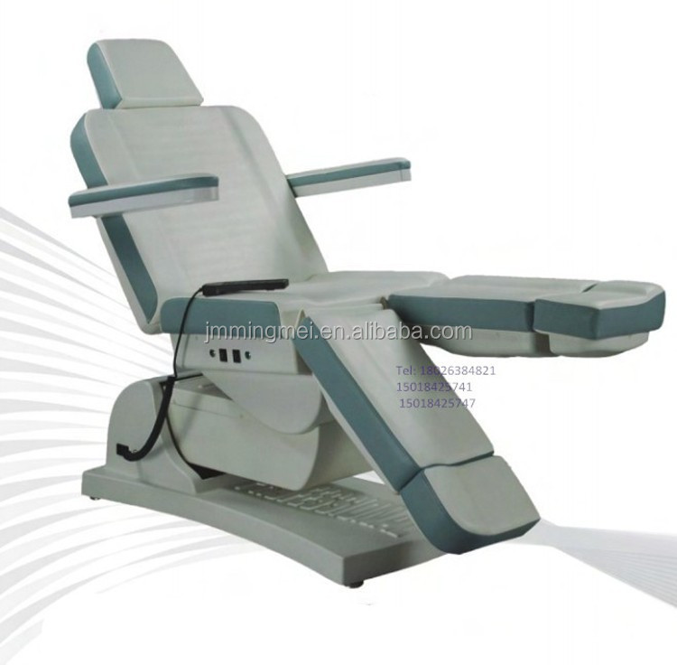 Professional Salon Furniture 5 motor Functional Electric Facial Bed for sale