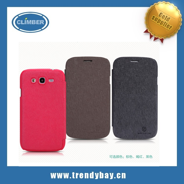 Nillkin gird pattern Leather case for samsung galaxy s5