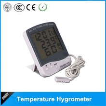 Precise reading outdoor clock thermometer digital