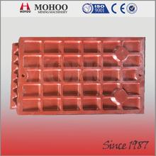 More wearable henan jaw crusher jaw plate professional OEM