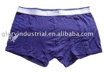 men dk. blue and comfortable boxers and underwear