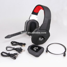 Superior Quality 2.4Ghz wireless Gaming Headset Noise-Cancellation Gaming Gamer Headphone for PS4 Xbox one PC PS3 Xbox 360