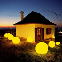 plastic light sphere/ outdoor sphere led lighting/ ball lights sphere light