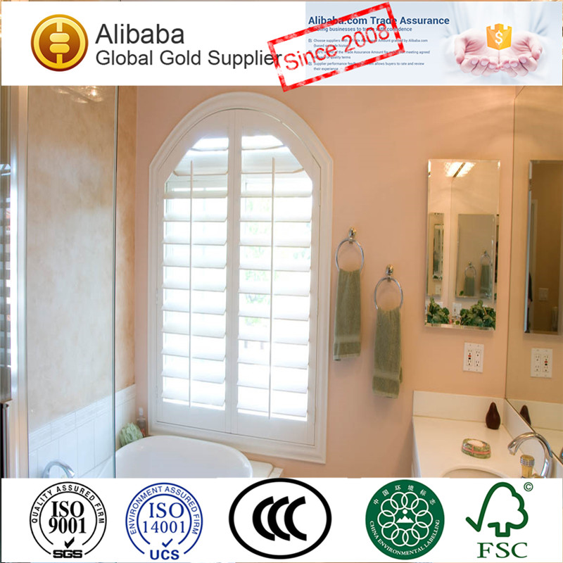 Top10 Best Selling High Quality with Best Price of Bi-Fold Shower Curtain With Matching Window Plantation Shutters