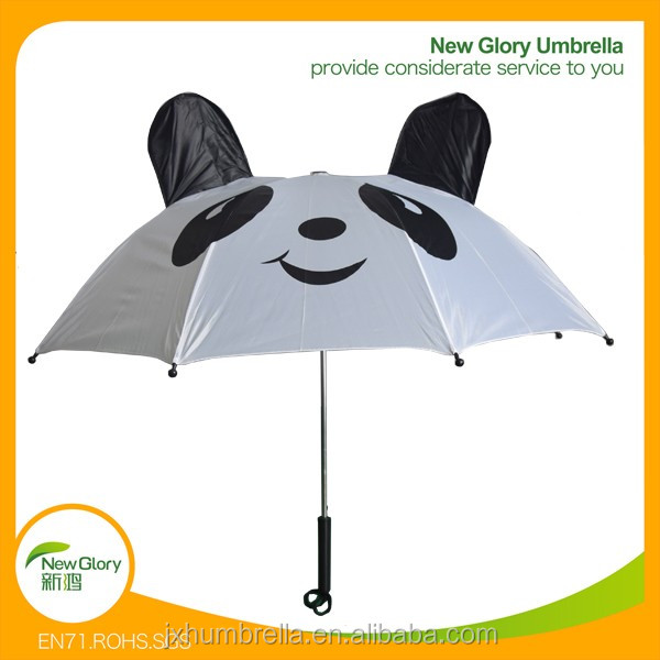 "20""* 8k personalized kids animal print cat ear umbrella"