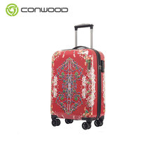 3 Pcs Travel Custom Luggage Set,Hot Sale Abs Travel Trolley Suitcase