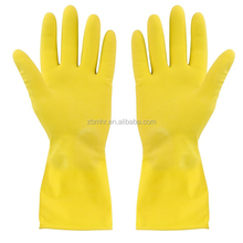 Brand MHR 85 g white industrial latex gloves/ Resistance to acid and alkali beef tendon thickening rubber gloves