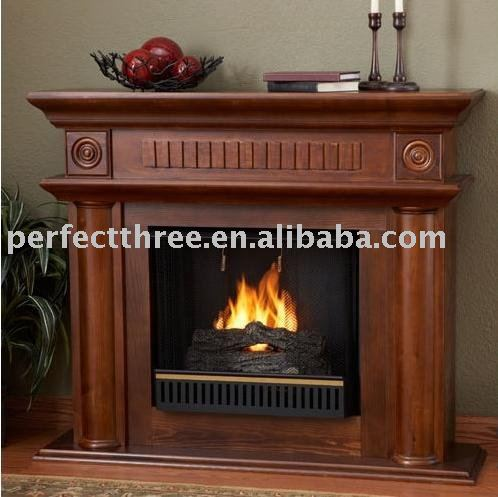 fireplace surround-wood carving