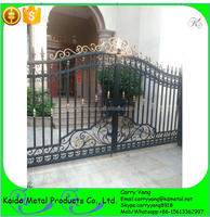 Beautiful Simple Wrought Iron Main Gate Colors