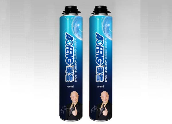 500ml Water Proof Construction Use Spray PU Foam