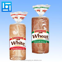 opp cpp bread plastic packaging bags with open tape/food bread bakery plastic packaging bags/cpp bread plastic packaging bags
