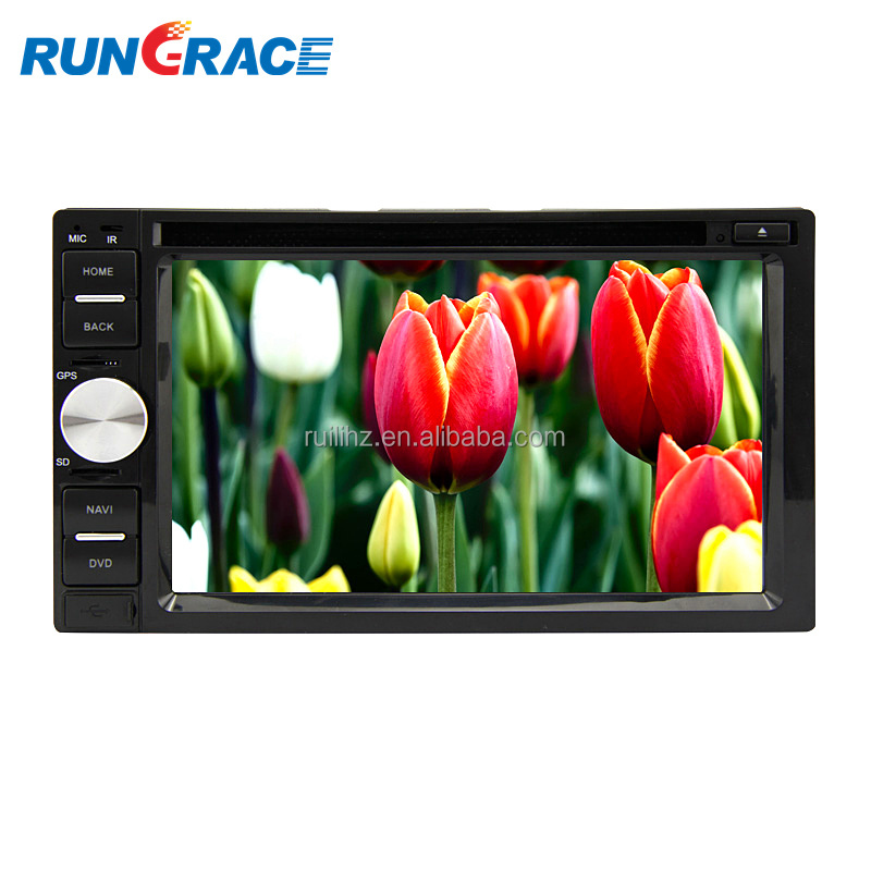 universal slide down 6.2 inch Smart Android car audio video player