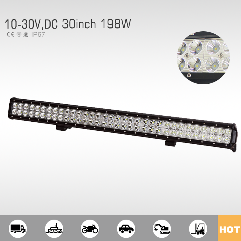 Factory direct supplier 198w led light bar