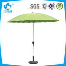 BSCI BV audit factory sunshade promotion white waterproof patio umbrellas with patio umbrellas wholesale
