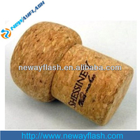wine cork shape usb flash drive