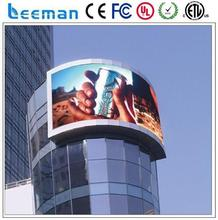 outdoor full color led tv advertising display mobile phone wifi tablet pc 7in Leeman rental led display advertising board