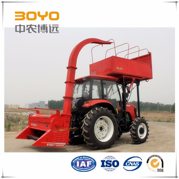 tractor mounted forage harvester