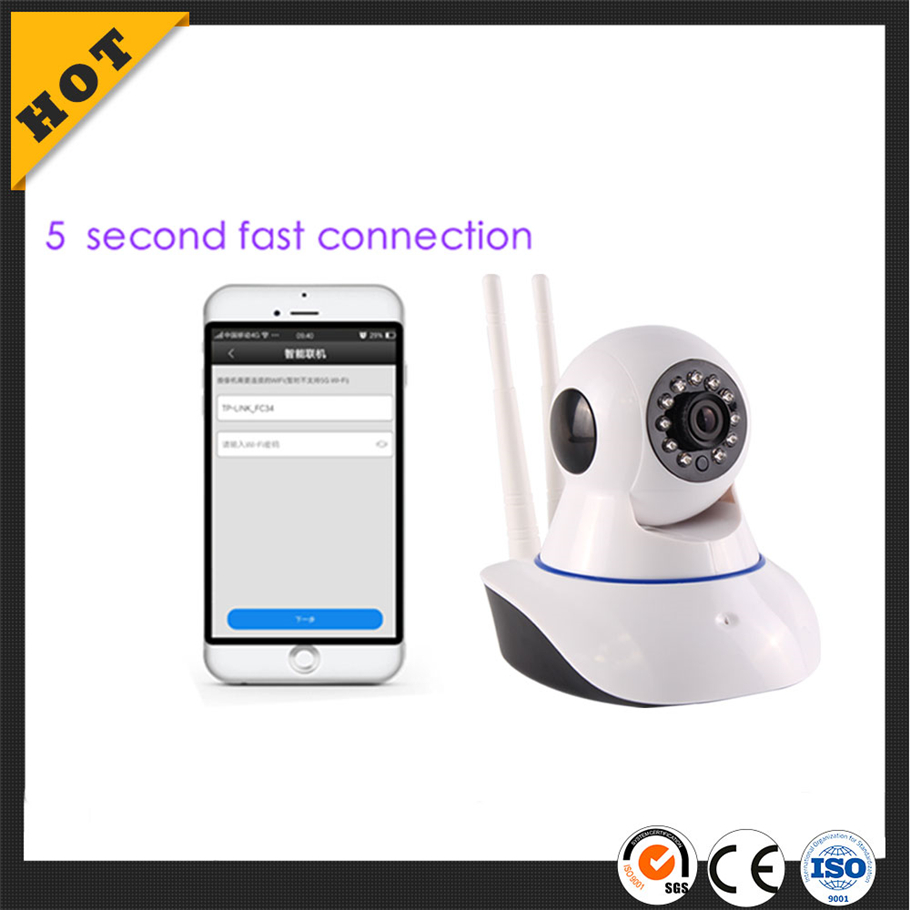 high quality top 10 Smart home security Baby Monitor H.264 720P Wifi camera