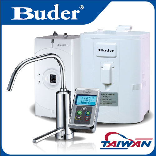[ Taiwan Buder ]Modern under counter hot and cold water purifier alkaline ionizer machine