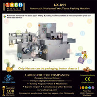 Automatic Horizontal Wet Tissue Packing Machine