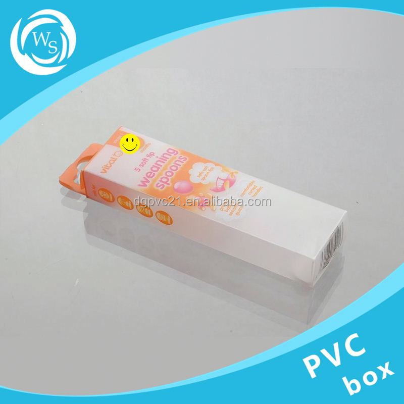 clear hard plastic box for cell phone case / crystal box packaging