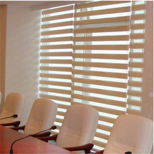 Electric blinds manual day and night curtain simple style zebra roller blind