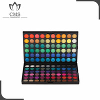 120 shining eye shadow colors palette highlighter palette
