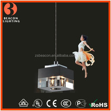 Alibaba Europe hot sale small size crystal single pendant new modern crystal pendent lamp for dinning room MP8177-1B