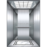 PE construction elevator/construction lift/ for home with car wall