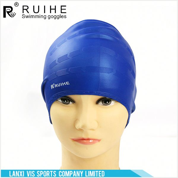 Latest OEM design customized silicone swimming cap with good offer