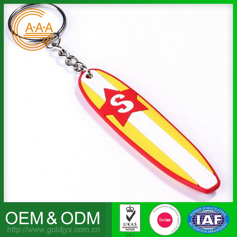 Reasonable Price Customized Silicone Key Ring Various Shapes Pvc Cartoon Keychain