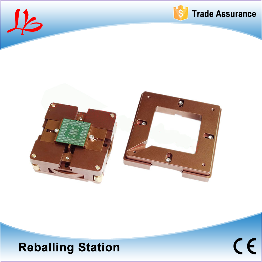 Newest Design! High Precision universal 80mm 90mm BGA Reballing Station with Magnet Inside