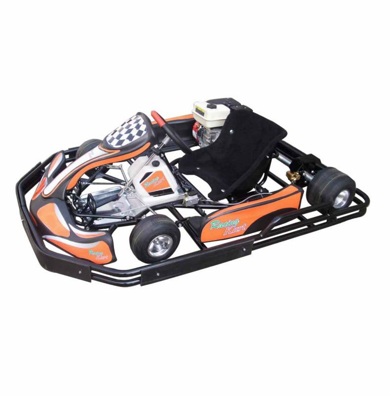 Pedal Go kart 270cc 4x4 off road manual gas Racing Go kart with Bumper and Cover SX-G1101