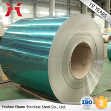 wholesale india color coated 430 2BA cold steel coil