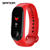 2018 New Women Sport Waterproof Smartwatch Blood Pressure Heart Rate Monitor Smart Watch Men Fitness Tracker Pedometer Watch M3