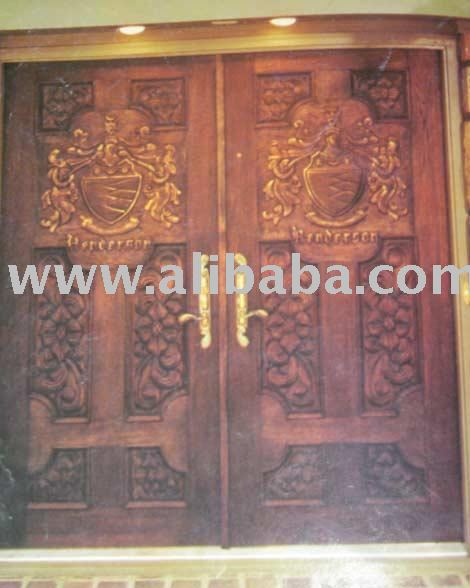 Deodar hand carved door