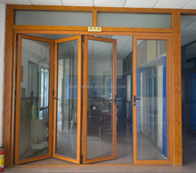Guangdong Factory Price Thermally Broken Aluminum Bi Folding Door