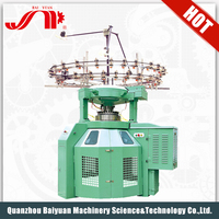 High Speed Double Jersey Semi-Rib Automatic Sock Knitting Machine For Sale