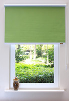 Blackout curtain fabric roller blind bracket metal window curtains