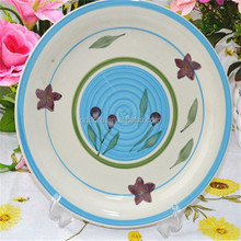 hand painted ceramic plate stoneware plate,Steak dishes
