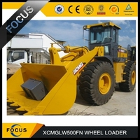 hot sell mechanical operation control 5ton xcmg lw500fn wheel loader