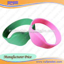 Logo print different size rfid wristband from ruifan